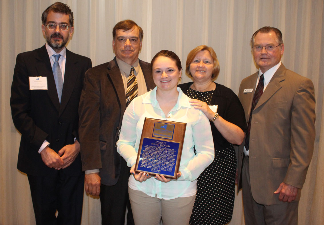 Behling Orchards Receives 2015 Business Excellence Award