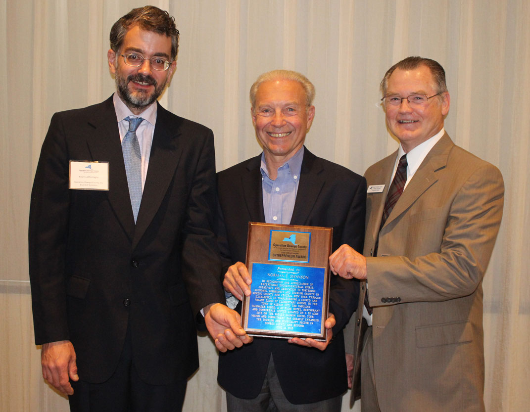 Norman E. Swanson Receives 2015 Dee Heckethorn Award