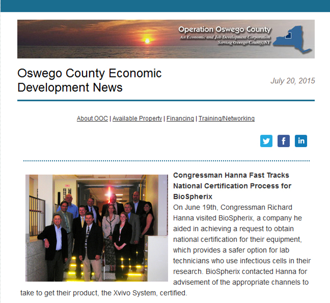 Operation Oswego County E-News, Oswego, NY